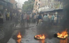 बिहिया में छात्र की हत्या के बाद भारी बवाल, लोगों ने आरोपित डांसर को निर्वस्त्र कर पीटा