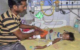 मौत है कि रुकने का नाम नहीं ले रही,  अब तक 115 बच्चों की मौत
