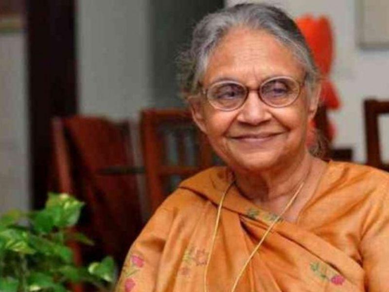 कांग्रेस की दिग्गज नेता और दिल्ली की पूर्व मुख्यमंत्री शीला दीक्षित का निधन