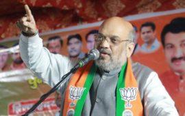 दिल्ली चुनाव में बटन इतने गुस्से में दबाना कि करंट 'शाहीन बाग' में लगे- अमित शाह