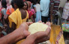 अनाज भले ही गोदाम में सड़ता रहे लेकिन 'जनता' भूख से मरती रहेगी…
