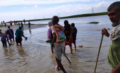 बिहार में 1185 पंचायत बाढ़ की चपेट में, कुल 69 लाख से ज्यादा की आबादी प्रभावित