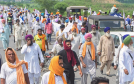 किसान मार्च: सिंघु बॉर्डर पर भारी सुरक्षा बलों की तैनाती