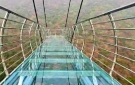 चीन के तर्ज पर बिहार के राजगीर में बना पहला ग्लास स्काईवॉक ब्रिज, नए साल में पर्यटकों को मिलेगी सौगात