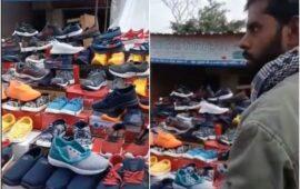 बुलंदशहर में जूतों पर 'ठाकुर' लिखा मिला, दुकानदार पर एफआईआर…