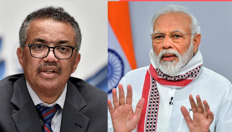 WHO प्रमुख ने दूसरे देशों को कोविड-19 टीका मुहैया कराने के लिए नरेंद्र मोदी की प्रशंसा की
